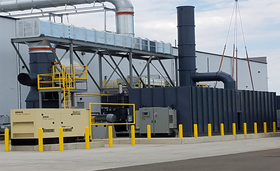 A Ceco Retox Thermal Oxidizer for VOC and HAP abatement.