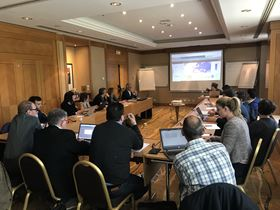 The EMI market intelligence committee meeting in May 2019.