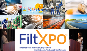 Experts will be speaking on seven keynote themes at this year's FiltXPO.