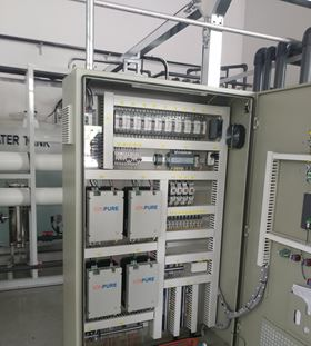 Evoqua has reduced plant footprint with its development of CEDI water systems.