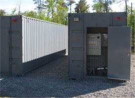 SC-40 shipping container biofilters from Waterloo Biofilter Systems.
