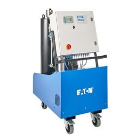 The IFPM 33 mobile, off-line fluid purifier system removes water, gases and particulate contaminants from oils.