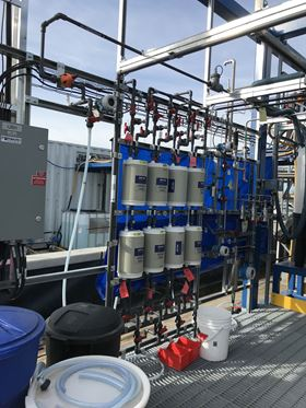 Forward Water Technologies' industrial scale pilot plant uses Aquaporin Inside membranes and has shown that low cost, low energy consumption ZLD is possible.