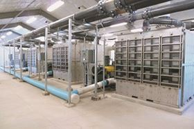 The new groundwater treatment plant in Cheyenne, Wyoming.