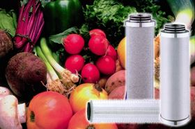 Filters used in the sterilising process of food and beverage production.