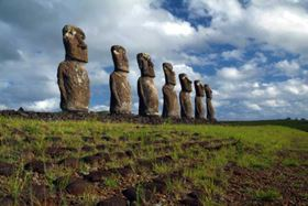 Easter Island, Chile. The remote location and limited natural resources make protecting the island an environmental challenge.