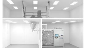 With the separator hycon and the three-room concept, GEA has created fully automated production in clean room applications. (Image: GEA)