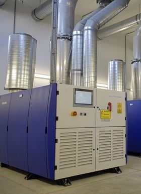 The HST turbocompressors offered quieter operation, high availability and very low maintenance costs.