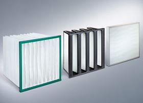 Mann+Hummel air filters for HVAC systems comply with fire safety standard EN 13501 class E.