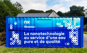 Veolia has been conducting lab-scale tests with NX Filtration's hollow fibre nanofiltration technology at its Scientific & Technological Expertise Department (STED).