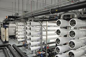 The Apateq water treatment plant treats brackish well water and pre-treated industrial process water.