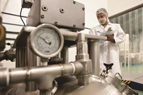 Figure 7: Tetratex Contact has been developed for the food and pharmaceutical industries.