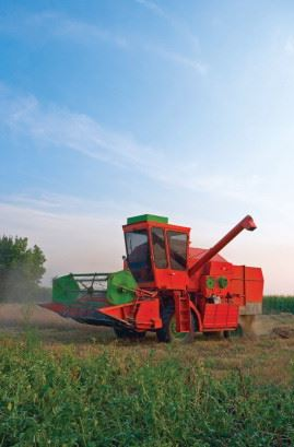 The agricultural sector is an important area of machinery manufacture.