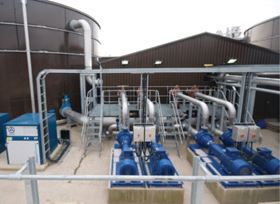 Figure 2. Due to factory growth and continuing limitations on water supply and discharge options, Kanes has recently installed a second AMBR LE™ plant.