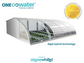 Algaewheel is a small-scale wastewater treatment and water reuse process.