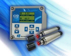 Electro-Chemical Devices' C22 multi-channel controller/monitor integrated with the Triton DO8 sensor creates a highly accurate oxygen analysis system.