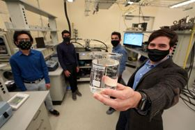 Assistant professor David Warsinger and members of his research group's Membrane Distillation Subteam. (Image : Purdue University)