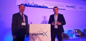 The FILTREX Innovation Award went to Math2Market for its FiberFind-AI module of Geodict software.