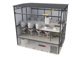 The VPF's design features improve sustainability and overall process performance and cut costs.