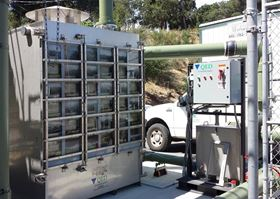 QED's sliding tray air stripper has been employed in a variety of drinking water treatment facilities.