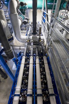 The Multibore membranes have 50% less energy consumption during operation than the previous system.