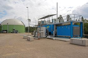 DMT's Carborex MS membrane-based high yield biogas upgrading technology.