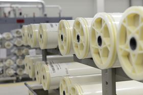 At its Bitterfeld site, Lanxess produces Lewabrane reverse osmosis membrane elements for the global market. (Image: Lanxess)