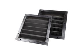 Croft filter panels can be separated easily, enabling the filter to be cleaned in the field.