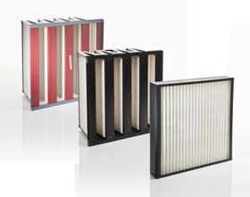 Figure 4: The optimum air intake filtration configuration? Combined coalescer/pre-filter, followed by a fine dust compact filter and final stage EPA.