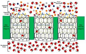 Robust carbon nanotube (CNT) membranes with antibacterial and antifouling properties are expected to remove most pollutants in next-generation water desalination.