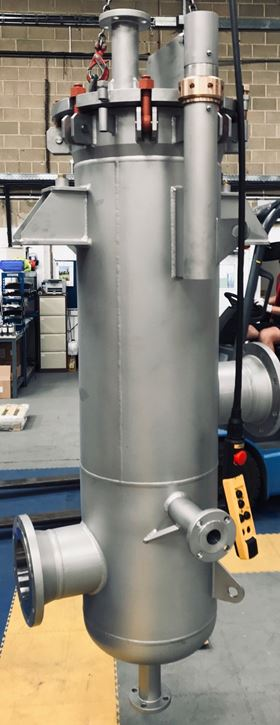 Amazon Filters designed and produced the filter housing for the Gulf of Mexico order at its Camberley, Surrey, manufacturing centre.