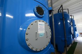 Filter vessels from Bluewater Bio.
