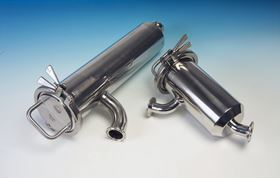 Axium's stainless steel in-line filters For honey application.