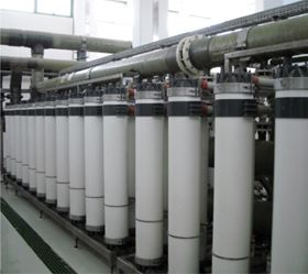 Figure 1. Ultrafiltration pre-treatment in a large seawater desalination plant in the Arabic Gulf.