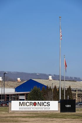 Micronics' headquarters in Chattanooga, Tennessee.