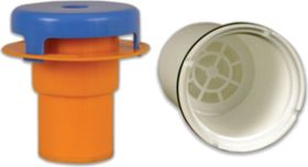 Examples of HaloPure inserts for filtration systems.