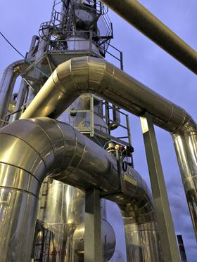 Whitefox ICE technology is operating in eight US ethanol facilities.