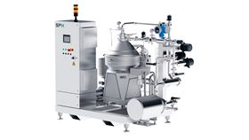 SPX Flow's vertical disk stack centrifuges provide high-performance separation and clarification solutions for the dairy and beverage sectors.