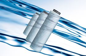 Cartridge filters for the semiconductor industry.