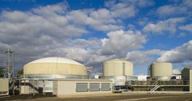Nestle Fawdon AD plant built by Clearfleau. Once operational the plant will feed bio-methane into the gas grid.