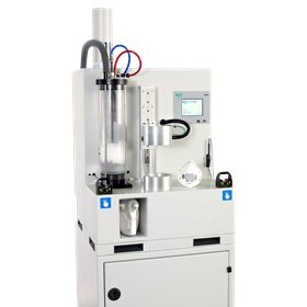 The 100X  is a compact test unit designed for production, quality control, and R&D applications for testing and validation of filter media, cartridges, and masks.
