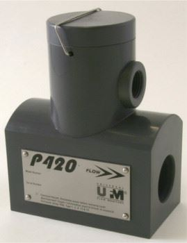 Universal Flow Monitor's P420 vortex shedding flow transmitters have no O-ring seals.
