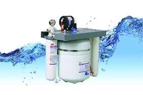 The ScaleGard LP2-BL (SGLP2) Dual Port Reverse Osmosis System from 3M.