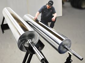 Menges Roller heat transfer rolls will be used in the company's new partnerships.