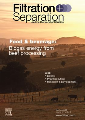 May/June 2020 issue of Filtration+Separation