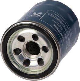 An oil filter for a motor vehicle.