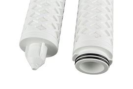 Donaldson's LifeTec filtration line for food and beverage process filtration.