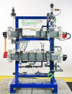 De Nora Water Technologies has improved the ClorTec on-site sodium hypochlorite generation systems.