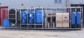 Veolia Water Technologies' high pressure boiler make-up water treatment plant.
