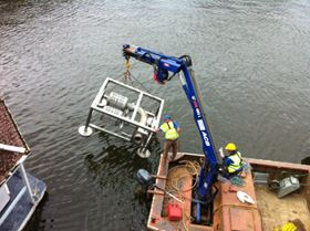 In River Suction Filter approved by Environment Agency for the protection of small fish and elvers.